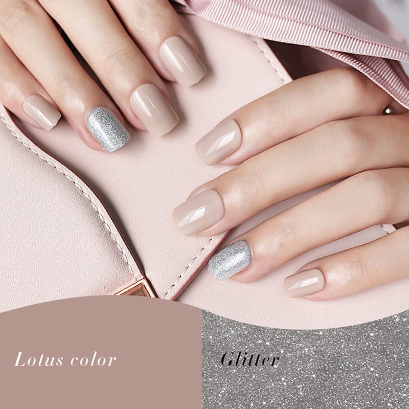 porcelain best press on nails customized for wedding-2