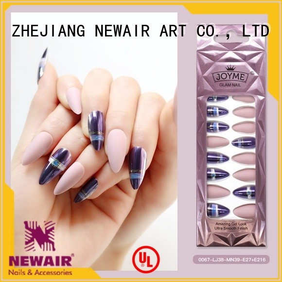 convenient fake nails from China for party