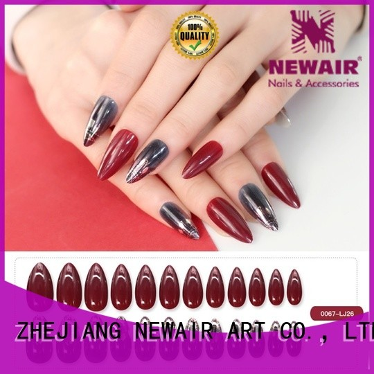 Newair Fake Nails excellent fake nails from China for party