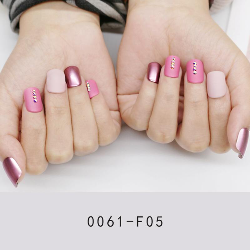 Newair Fake Nails classical artificial nail set manufacturer for lady-2