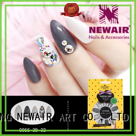 star 3D fake nail wholesale for christmas