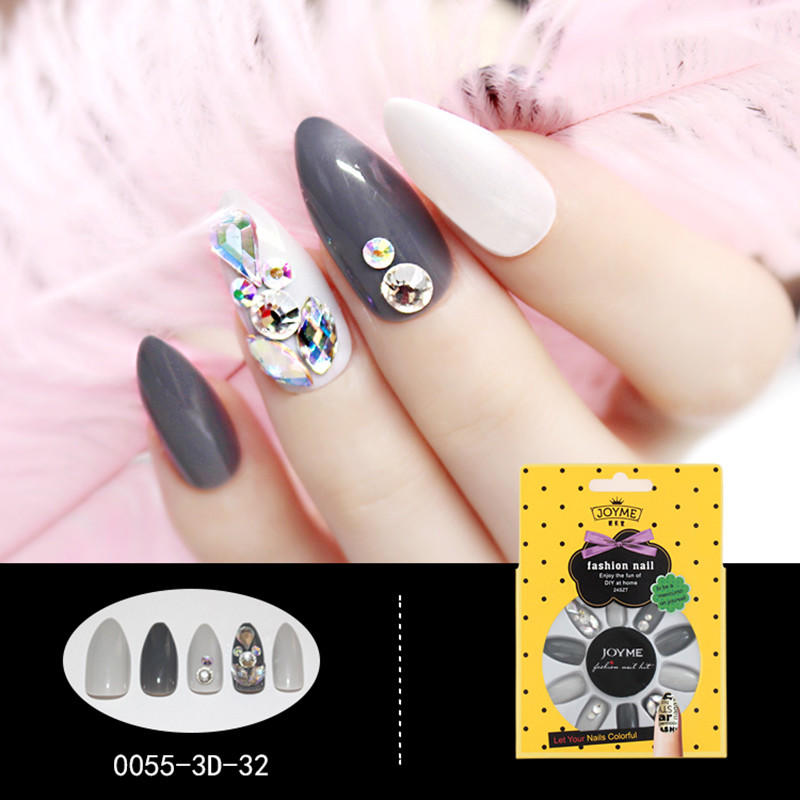fashion false nails full cover factory price for girls-1