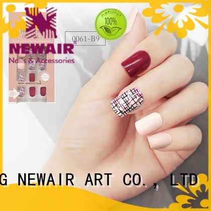 nai artificial nail set customized for bride