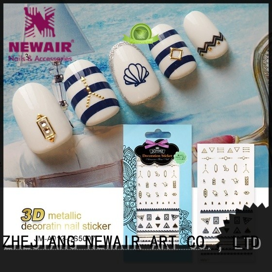 Newair Fake Nails nail art stickers inquire now for women
