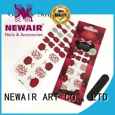 Newair Fake Nails pink nail strips factory price for commercial