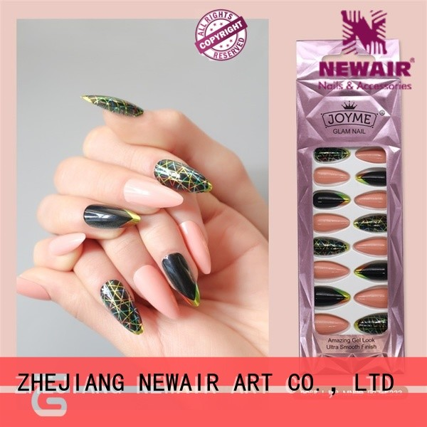 excellent fake nails customized for lover