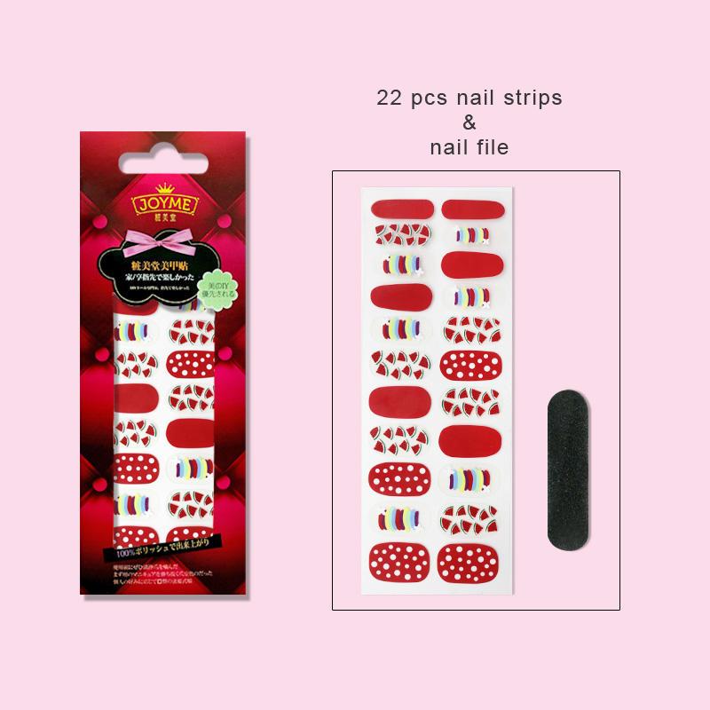 gel nail art stripes factory price for girl-3