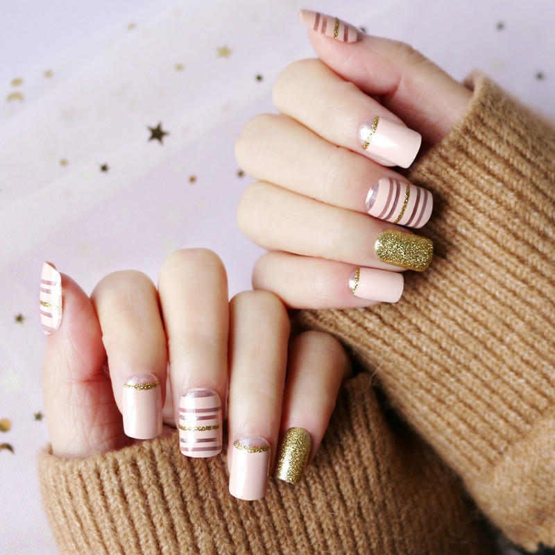 Newair Fake Nails gray halloween press on nails manufacturer for wedding-1