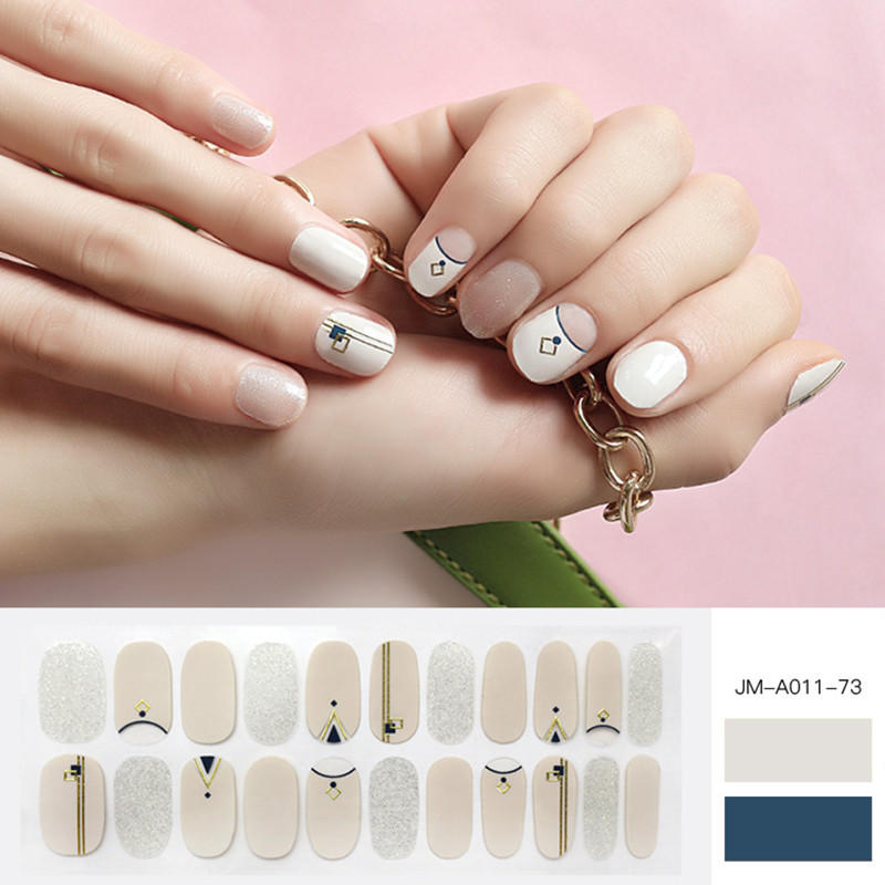 yellow nail art stripes designs supplier for gifts-1