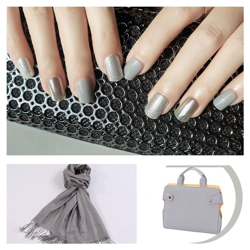 natural acrylic nails directly sale for girls-3