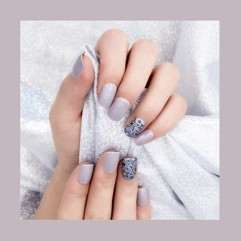 popular natural artificial nails from China for bride-3
