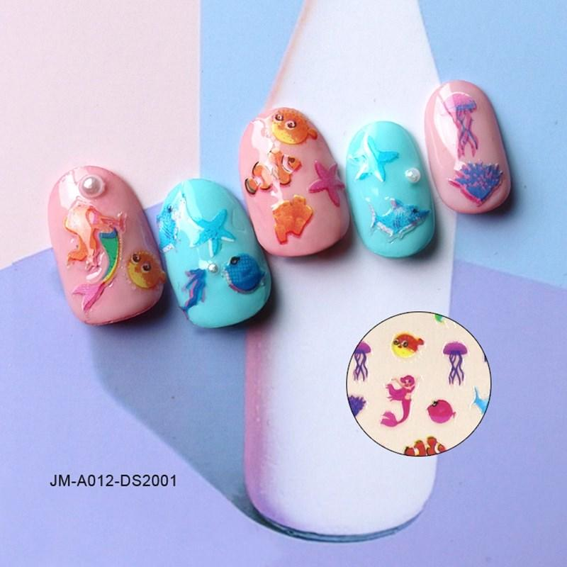 adhesive nail art stickers for ladies-1