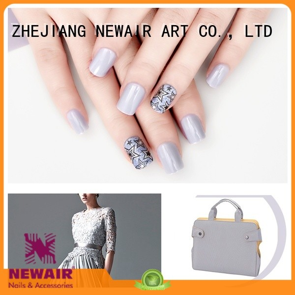 popular natural artificial nails from China for bride