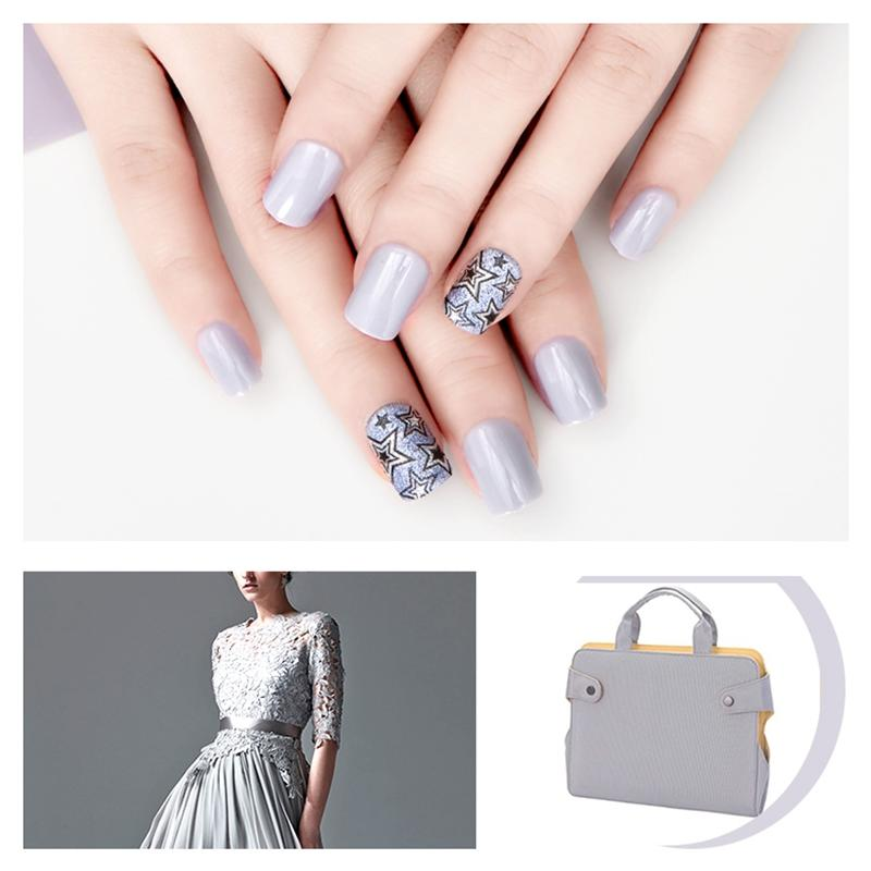 popular natural artificial nails from China for bride-1