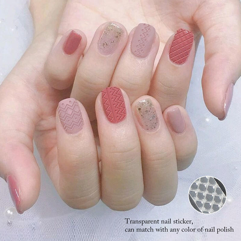 Newair Fake Nails lace best nail stickers with good price for commercial-3