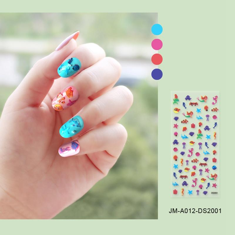 adhesive nail art stickers for ladies-2