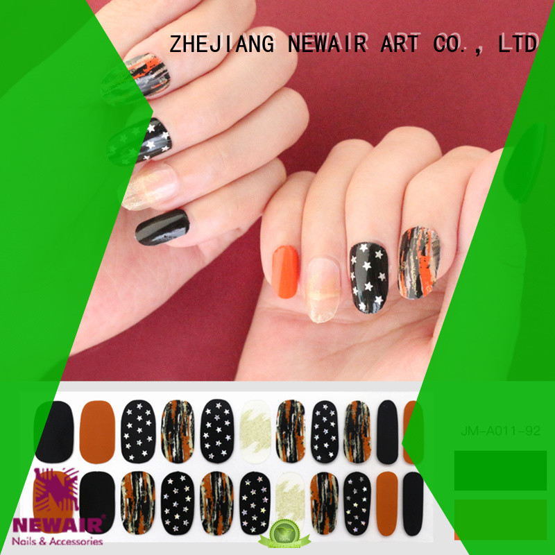 orange nail polish strips walmart factory price for commercial