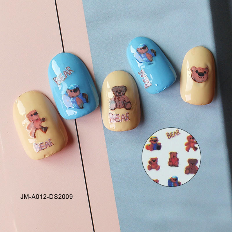 Newair Fake Nails 3d nail stickers for women-2