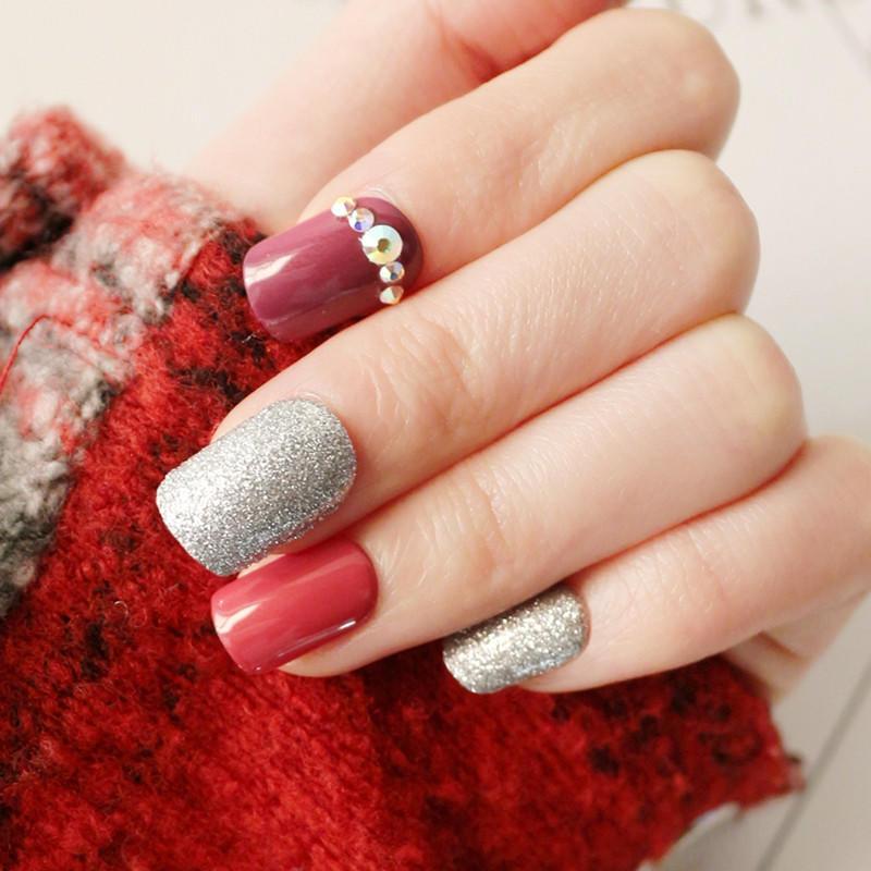 Newair Fake Nails gel press on nails manufacturer for bride-2