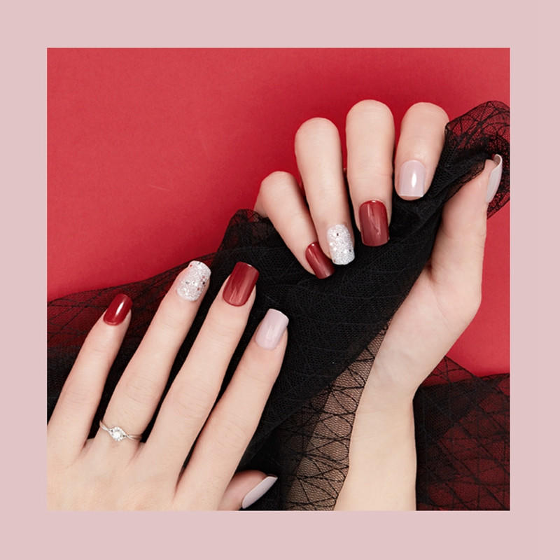 Newair Fake Nails artificial nails kit customized for lady-2