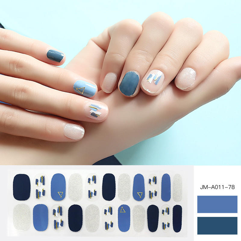 colour nail polish strips walmart factory price for gifts-2