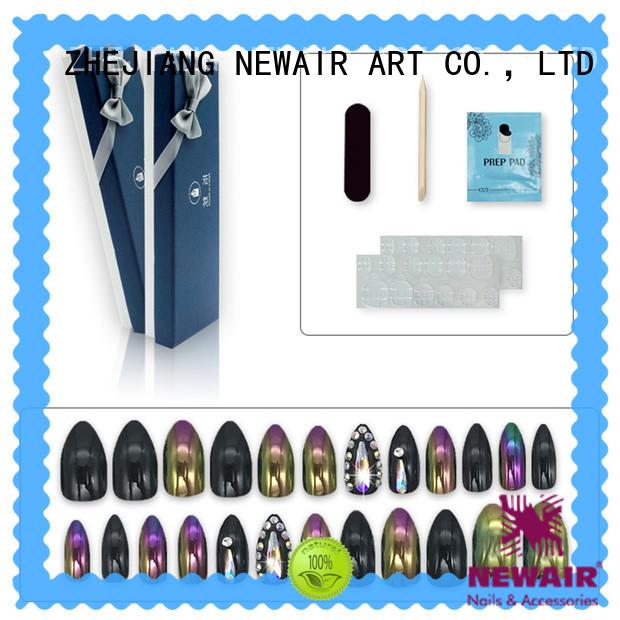 Newair Fake Nails 3d halloween press on nails manufacturer for girls