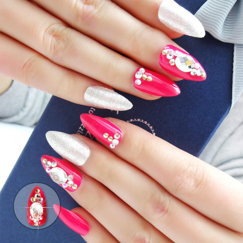 big best press on nails series for bride-2