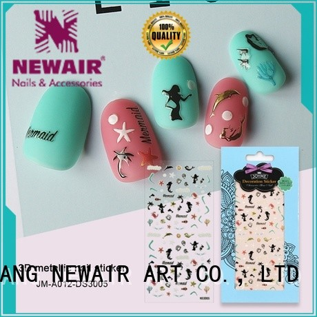 cute nail letter stickers with good price for commercial