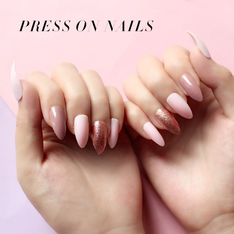 NEWAIR press on nails supplier gel nails stiletto nails gliter nails