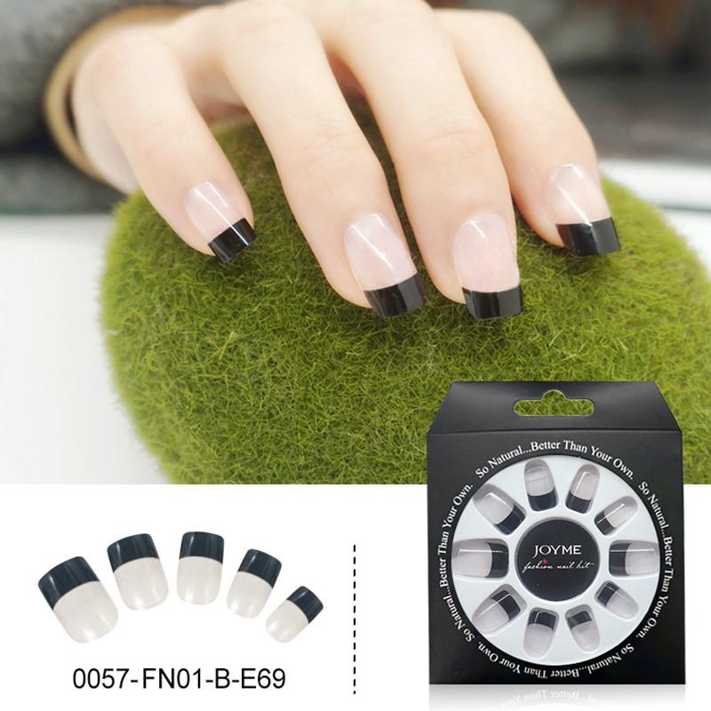 Fashion Design Wholesale False Nail Press On Nail Tips Fake Nails 24PCS