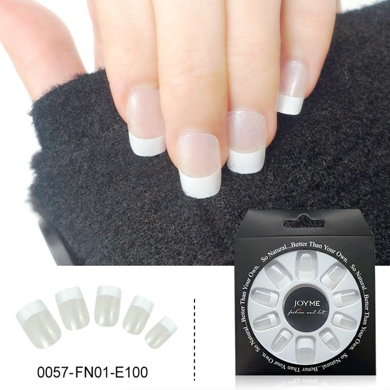 French  Design Wholesale False Nail Press On Nail Tips Fake Nails 24PCS