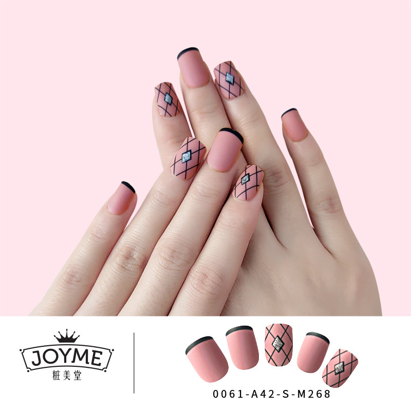Newair Artificial press on french  nail with fashionable design nail