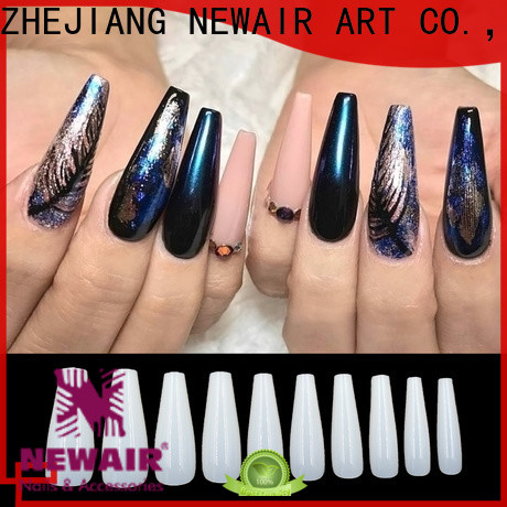Newair Fake Nails approved 500pcs stiletto nail tips wholesale for sale