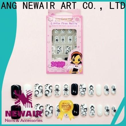 Newair Fake Nails stones natural artificial nails from China for girls