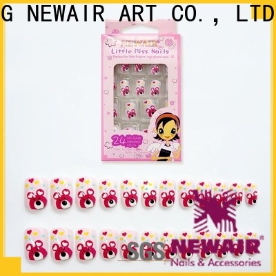 Newair Fake Nails reusable press on nails customized for bride