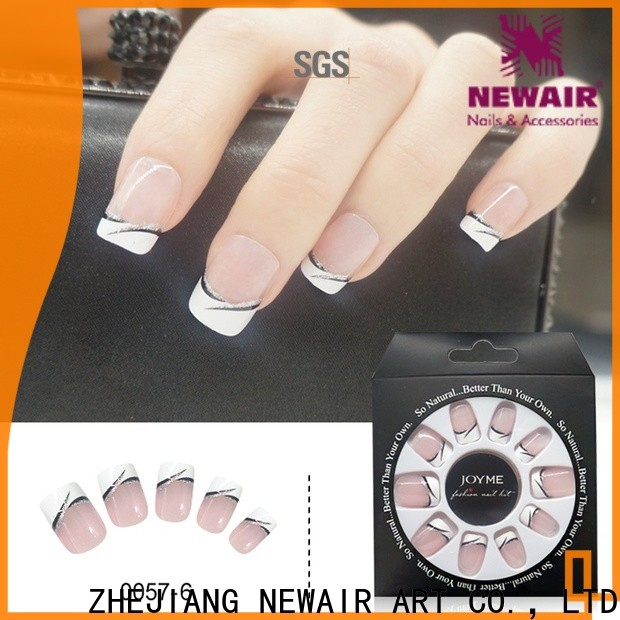 colored press on nails amazon from China for lady