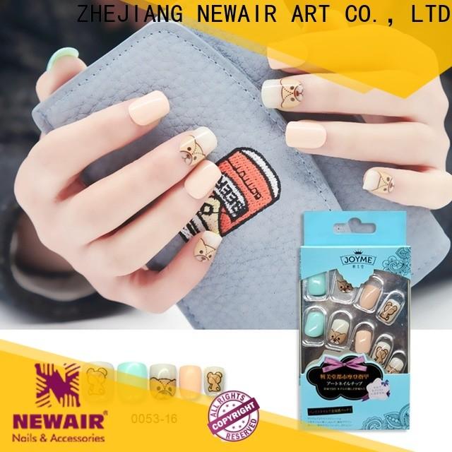 natural press on nails