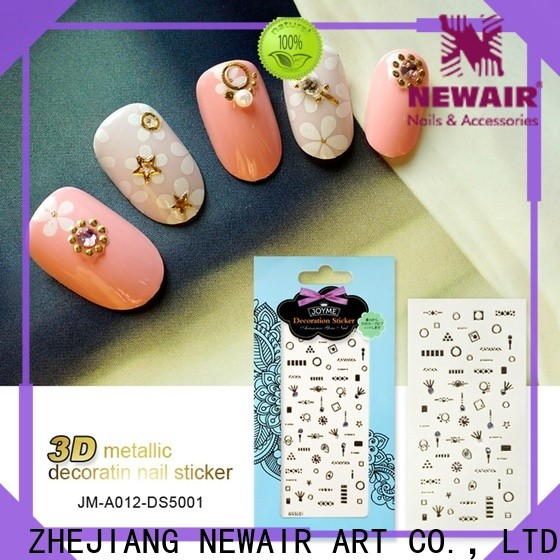 Newair Fake Nails nail letter stickers design for commercial