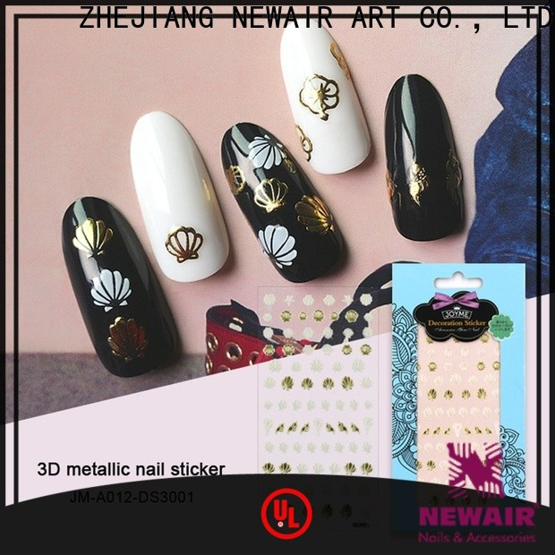 Newair Fake Nails friendly flower nail stickers inquire now for ladies