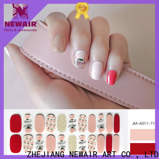 Newair Fake Nails sally hansen nail polish strips personalized for women