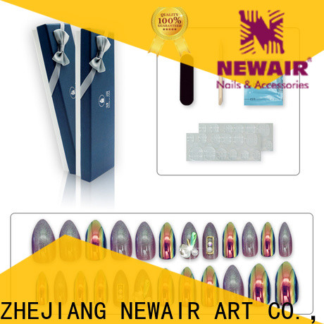 Newair Fake Nails artificial fingernails directly sale for lady