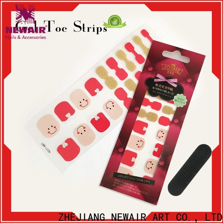 Newair Fake Nails colour incoco nail polish strips wholesale for commercial