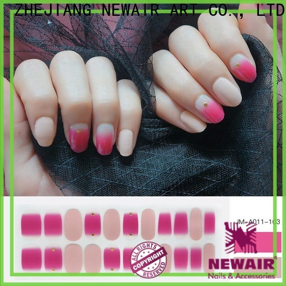 french best nail strips factory price for gifts