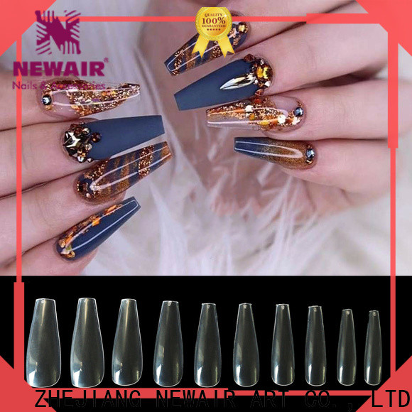convenient 500pcs full cover nail tips personalized for women