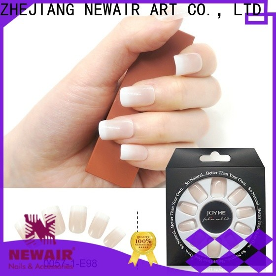 Newair Fake Nails coffin artificial fingernails series for girls