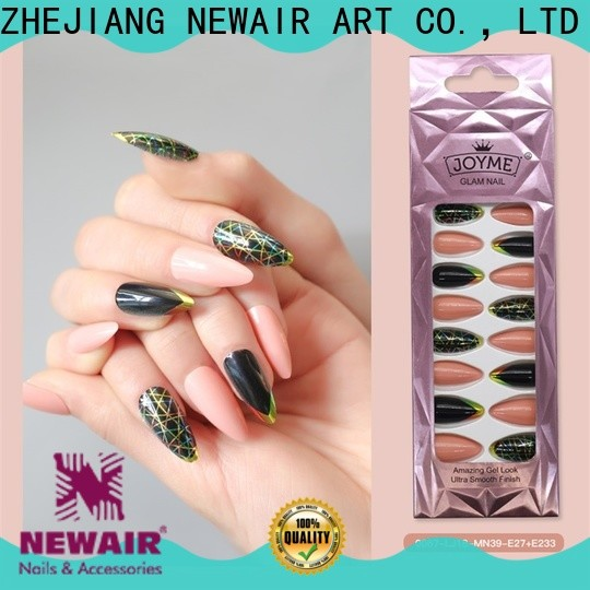 Newair Fake Nails false nails with design personalized for bride