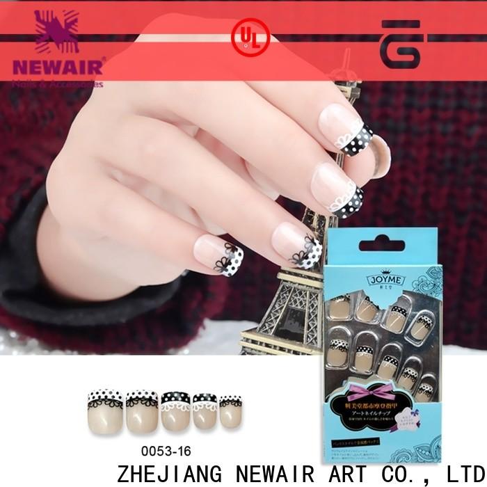 Newair Fake Nails soft press on nails from China for lady