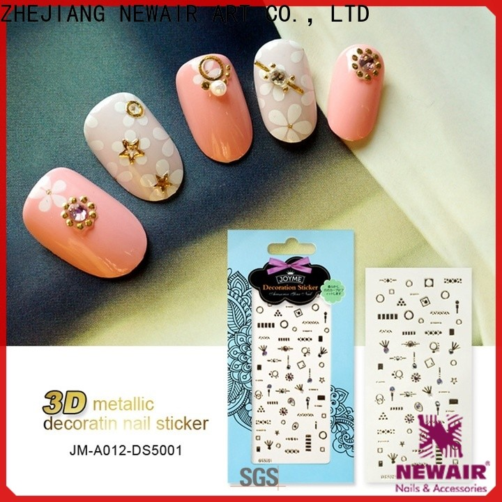 Newair Fake Nails cute nail letter stickers factory for women