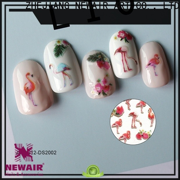 water nail stickers