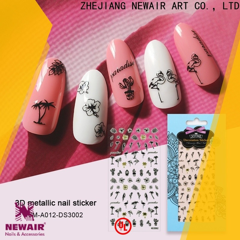 Newair Fake Nails lovely star nail stickers factory for ladies